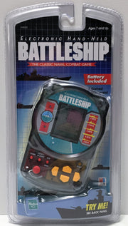 (TAS033762) - 1999 Hasbro Electronic Hand-Held Battleship - Naval Combat Game, , Game, Hasbro, The Angry Spider Vintage Toys & Collectibles Store  - 1