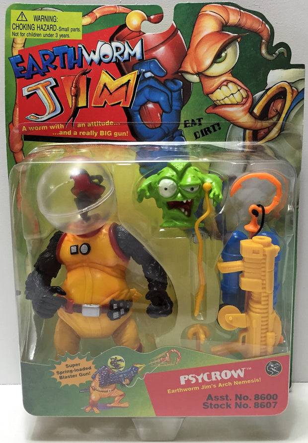 Earthworm Jim Henchrat Loose Action Figure Playmates 1994