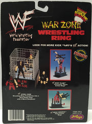 (TAS033768) - 1998 JusToys WWF Wrestling Micro Bend-Ems War Zone Wrestling Ring, , Action Figure, Wrestling, The Angry Spider Vintage Toys & Collectibles Store  - 2