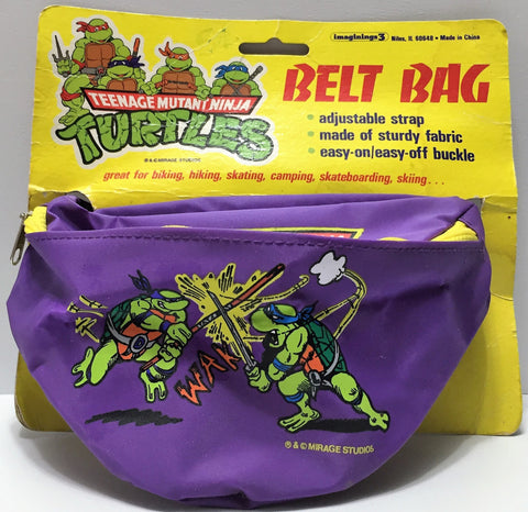 (TAS033769) - 1990 Mirage Toys Teenage Mutant Ninja Turtles Vintage Bag Belt, , Clothing & Accessories, TMNT, The Angry Spider Vintage Toys & Collectibles Store  - 1