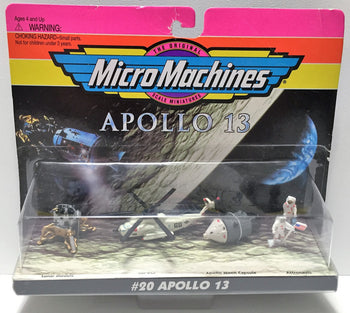 (TAS033773) - 1996 Galoob Micro Machines Scale Miniatures - #20 Apollo 13, , Trucks & Cars, Galoob, The Angry Spider Vintage Toys & Collectibles Store  - 1