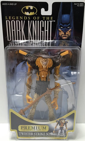 (TAS033777) - 1996 Hasbro Legends of the Dark Knight - Twister Strike Scarecrow, , Action Figure, Batman, The Angry Spider Vintage Toys & Collectibles Store  - 1