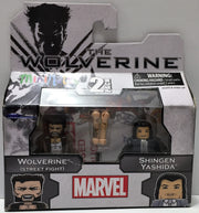 (TAS033781) - 2013 Marvel Marvel Mini Mates 2 pack - Wolverine & Shingen Yashida, , Action Figure, X-Men, The Angry Spider Vintage Toys & Collectibles Store  - 1