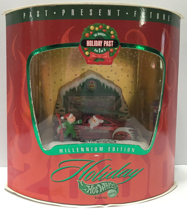(TAS033785) - 1999 Mattel Holiday Hot Wheels - Millennium Edition - 1 of 3, , Trucks & Cars, Hot Wheels, The Angry Spider Vintage Toys & Collectibles Store  - 1