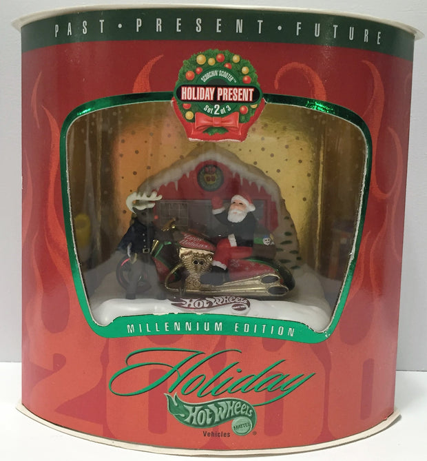 (TAS033787) - 1999 Mattel Holiday Hot Wheels - Millennium Edition - 2 of 3, , Trucks & Cars, Hot Wheels, The Angry Spider Vintage Toys & Collectibles Store  - 1