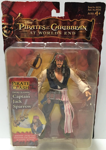 (TAS033802) - 2009 Zizzle Disney Pirates of the Caribbean - Captain Jack Sparrow, , Action Figure, Disney, The Angry Spider Vintage Toys & Collectibles Store  - 1