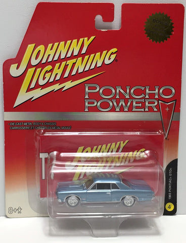 (TAS033807) - 2006 Johnny Lightning Poncho Power Die-Cast Car - 1965 Pontiac GTO, , Trucks & Cars, Johnny Lightning, The Angry Spider Vintage Toys & Collectibles Store  - 1