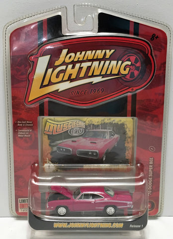 (TAS033811) - 2007 Johnny Lightning Muscle Car - '70 Dodge Super Bee, , Trucks & Cars, Johnny Lightning, The Angry Spider Vintage Toys & Collectibles Store  - 1
