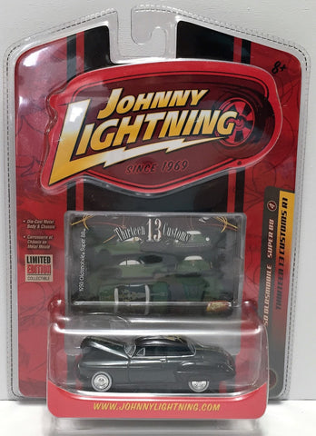 (TAS033814) - 2007 Johnny Lightning Thirteen Customs - '50 Oldsmobile Super 88, , Trucks & Cars, Johnny Lightning, The Angry Spider Vintage Toys & Collectibles Store  - 1