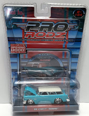 (TAS033819) - 2005 Maisto Pro Rodz Pro-Touring Die-Cast - '55 Chevy Nomad, , Trucks & Cars, Maisto, The Angry Spider Vintage Toys & Collectibles Store  - 1