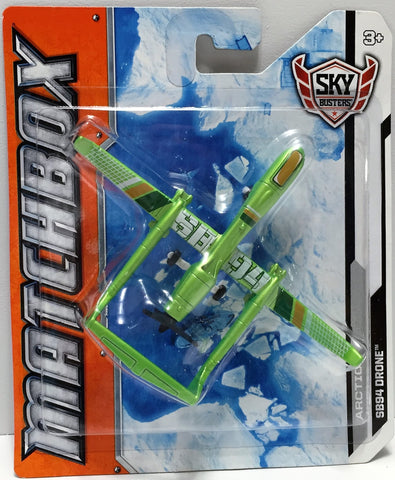 (TAS033822) - 2012 Mattel Matchbox Sky Busters - Arctic - SB94 Drone, , Trucks & Cars, Matchbox, The Angry Spider Vintage Toys & Collectibles Store  - 1