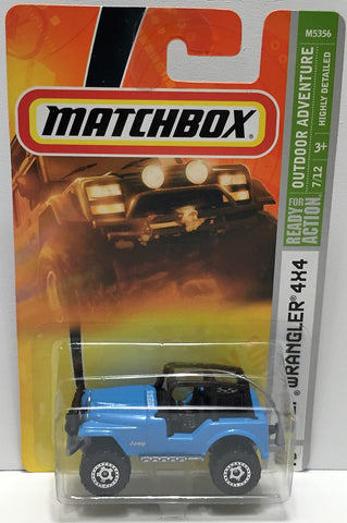 (TAS033823) - 2007 Mattel Matchbox Outdoor Adventure - Jeep Wrangler 4X4, , Trucks & Cars, Matchbox, The Angry Spider Vintage Toys & Collectibles Store  - 1