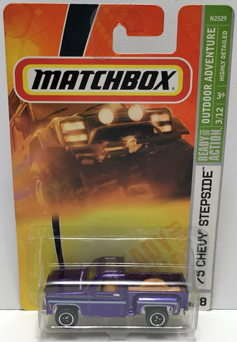 (TAS033824) - 2007 Mattel Matchbox Outdoor Adventure - '75 Chevy Sidestep, , Trucks & Cars, Matchbox, The Angry Spider Vintage Toys & Collectibles Store  - 1