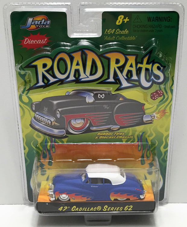 (TAS033826) - 2002 Jada Toys Die-Cast Road Rats Car - '47 Cadillac 62, , Trucks & Cars, Jada Toys, The Angry Spider Vintage Toys & Collectibles Store  - 1
