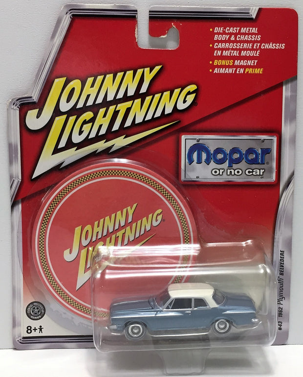 (TAS033827) - 2005 Johnny Lightning Mopar or No Car - 1962 Plymouth Belvedere, , Trucks & Cars, Johnny Lightning, The Angry Spider Vintage Toys & Collectibles Store  - 1