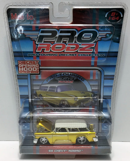 (TAS033830) - 2005 Maisto Pro Rodz Pro-Touring Die-Cast - '55 Chevy Nomad, , Trucks & Cars, Maisto, The Angry Spider Vintage Toys & Collectibles Store  - 1