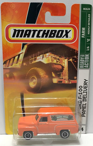(TAS033832) - 2007 Mattel Matchbox Action Farm - Ford F-100 Panel Delivery, , Trucks & Cars, Matchbox, The Angry Spider Vintage Toys & Collectibles Store  - 1