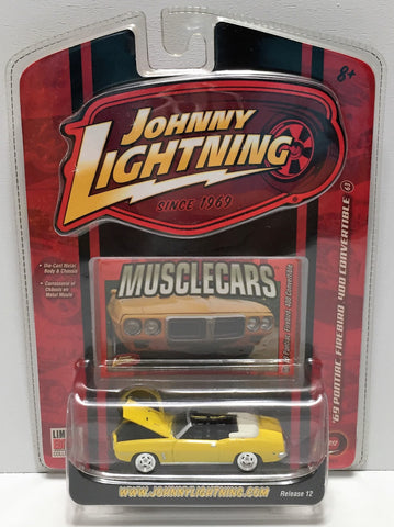 (TAS033835) - 2006 Johnny Lightning 69 Pontiac Firebird 400 Convertible Die-Cast, , Trucks & Cars, Johnny Lightning, The Angry Spider Vintage Toys & Collectibles Store  - 1