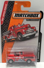 (TAS033839) - 2013 Mattel Matchbox On a Mission - Seagrave Fire Engine, , Trucks & Cars, Matchbox, The Angry Spider Vintage Toys & Collectibles Store  - 1