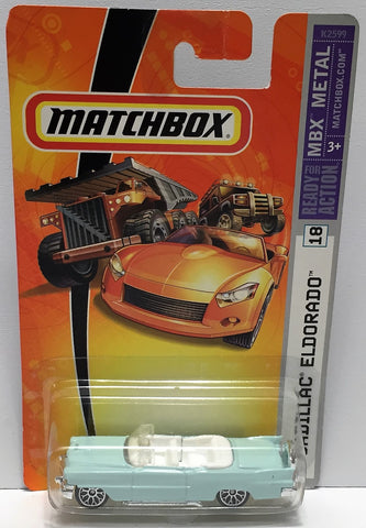 (TAS033841) - 2006 Mattel Matchbox MBX Metal - Cadillac Eldoado, , Trucks & Cars, Matchbox, The Angry Spider Vintage Toys & Collectibles Store  - 1