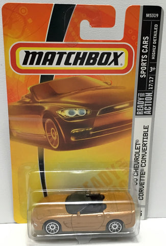(TAS033842) - 2007 Mattel Matchbox Sports - '00 Chevrolet Corvette Convertible, , Trucks & Cars, Matchbox, The Angry Spider Vintage Toys & Collectibles Store  - 1