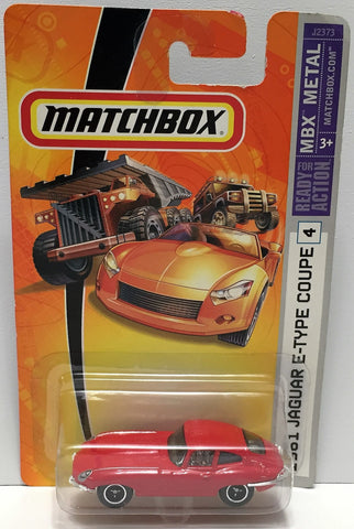(TAS033844) - 2006 Mattel Matchbox MBX Metal - 1961 Jaguar E-Type Coupe, , Trucks & Cars, Matchbox, The Angry Spider Vintage Toys & Collectibles Store  - 1