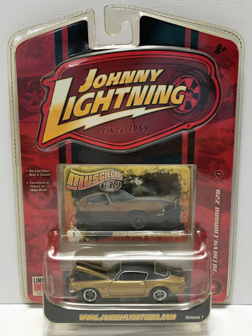 (TAS033854) - 2007 Johnny Lightning Muscle Cars - 1970 Chevy Camaro Z28, , Trucks & Cars, Johnny Lightning, The Angry Spider Vintage Toys & Collectibles Store  - 1