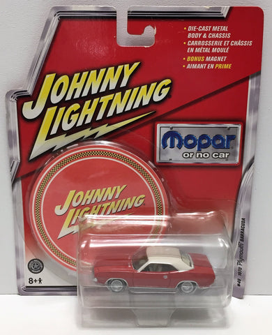 (TAS033857) - 2005 Johnny Lightning Mopar or No Car - 1970 Plymouth Barracuda, , Trucks & Cars, Johnny Lightning, The Angry Spider Vintage Toys & Collectibles Store  - 1