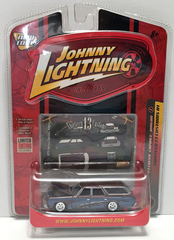 (TAS033858) - 2007 Johnny Lightning Thirteen Customs - '73 Chevy Caprice Wagon, , Trucks & Cars, Johnny Lightning, The Angry Spider Vintage Toys & Collectibles Store  - 1