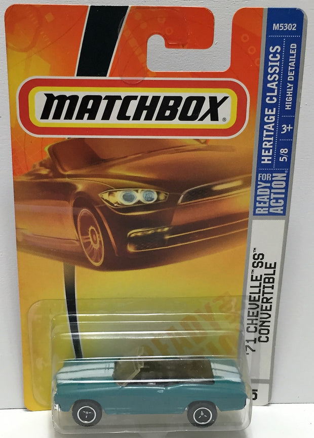(TAS033859) - 2007 Mattel Matchbox Heritage Classics '71 Chevelle SS Convertible, , Trucks & Cars, Matchbox, The Angry Spider Vintage Toys & Collectibles Store  - 1