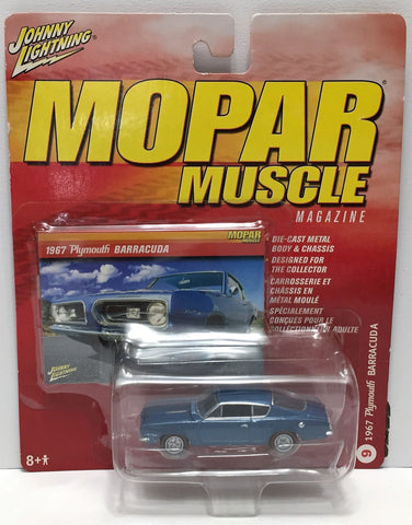 (TAS033861) - 2005 Johnny Lightning Mopar Muscle 1967 Plymouth Barracuda, , Trucks & Cars, Johnny Lightning, The Angry Spider Vintage Toys & Collectibles Store  - 1