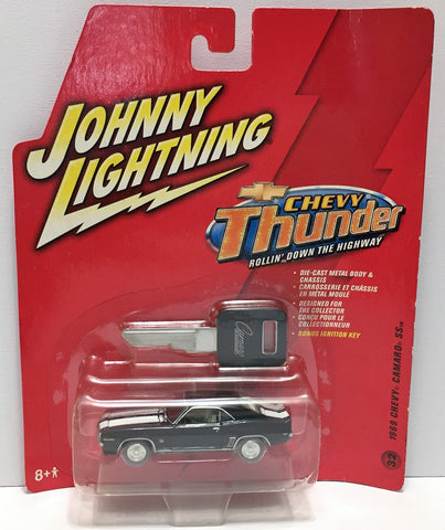 (TAS033862) - 2006 Johnny Lightning Chevy Thunder - 1969 Chevy Camaro SS, , Trucks & Cars, Johnny Lightning, The Angry Spider Vintage Toys & Collectibles Store  - 1