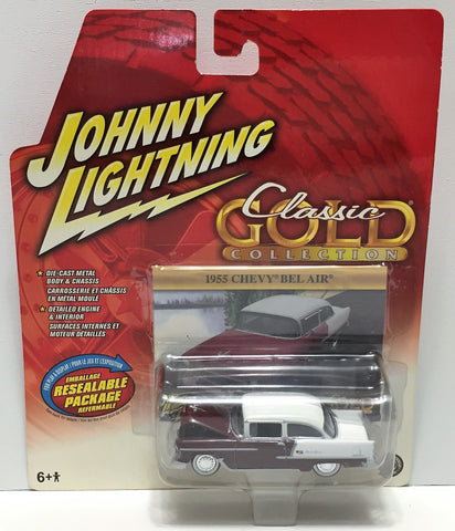 (TAS033863) - 2004 Johnny Lightning Classic Gold Collection - 1955 Chevy Bel Air, , Trucks & Cars, Johnny Lightning, The Angry Spider Vintage Toys & Collectibles Store  - 1