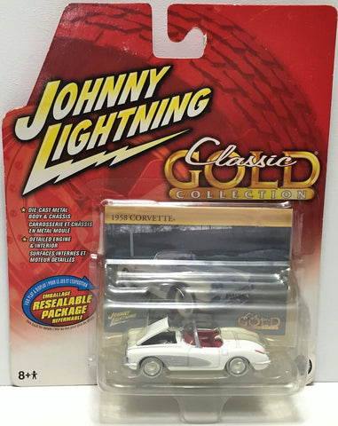 (TAS033864) - 2006 Johnny Lightning Classic Gold Collection - 1958 Corvette, , Trucks & Cars, Johnny Lightning, The Angry Spider Vintage Toys & Collectibles Store  - 1