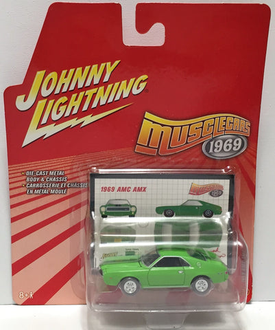 (TAS033866) - 2006 Johnny Lightning Muscle Cars - 1969 AMC AMX, , Trucks & Cars, Johnny Lightning, The Angry Spider Vintage Toys & Collectibles Store  - 1