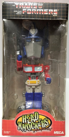(TAS033892) - 2002 Hasbro Transformers Handpainted Head Knockers - Optimus Prime, , Other, Transformers, The Angry Spider Vintage Toys & Collectibles Store  - 1