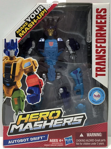(TAS033906) - 2013 Hasbro Transformers Hero Mashers Figure - Autobot Drift, , Action Figure, Transformers, The Angry Spider Vintage Toys & Collectibles Store  - 1