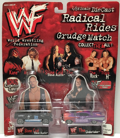 (TAS033946) - 1998 Titan Sports WWF Die-Cast Radical Rides - Austin & Undertaker, , Action Figure, Wrestling, The Angry Spider Vintage Toys & Collectibles Store  - 1
