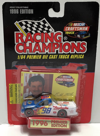 (TAS033960) - 1996 Racing Champions NASCAR Die-Cast Stock Car - Butch Miller, , Trucks & Cars, Racing Champions, The Angry Spider Vintage Toys & Collectibles Store  - 1