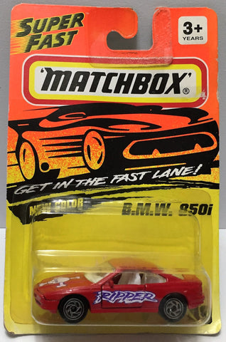 "(TAS033978) - 1994 Matchbox ""Get in the Fast Lane"" Series - B.M.W. 850i, , Trucks & Cars, Matchbox, The Angry Spider Vintage Toys & Collectibles Store  - 1"