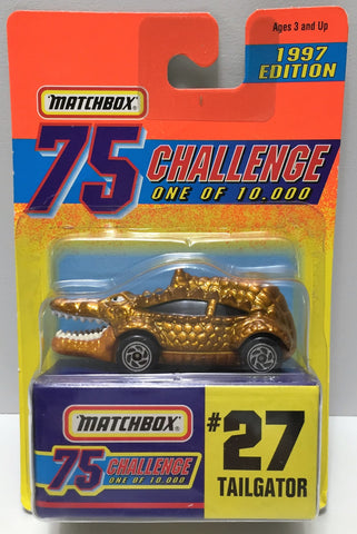 (TAS033995) - 1996 Matchbox 75 Challenge Series - #27 Tailgator, , Trucks & Cars, Matchbox, The Angry Spider Vintage Toys & Collectibles Store  - 1