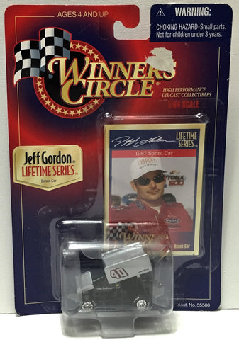 (TAS033996) - 1997 Hasbro Winner's Circle Lifetime Series - Jeff Gordon 1987, , Trucks & Cars, NASCAR, The Angry Spider Vintage Toys & Collectibles Store  - 1