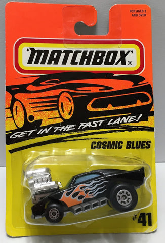 "(TAS034004) - 1995 Matchbox ""Get in the Fast Lane"" - Cosmic Blues, , Trucks & Cars, Matchbox, The Angry Spider Vintage Toys & Collectibles Store  - 1"