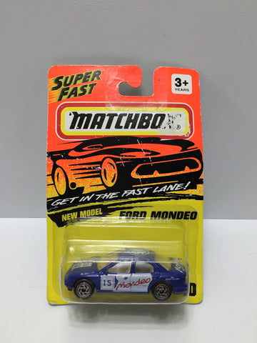 "(TAS034007) - 1994 Matchbox ""Get in the Fast Lane"" Series - Ford Mondeo, , Trucks & Cars, Matchbox, The Angry Spider Vintage Toys & Collectibles Store  - 1"