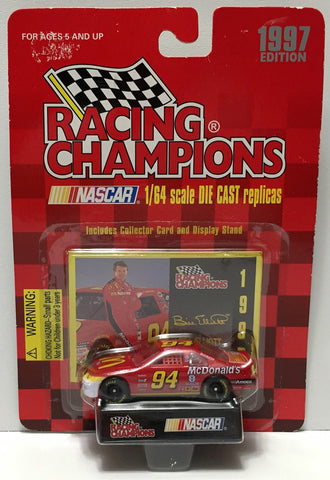 (TAS034008) - 1997 Racing Champions NASCAR Stock Car - Bill Elliott, , Trucks & Cars, Racing Champions, The Angry Spider Vintage Toys & Collectibles Store  - 1