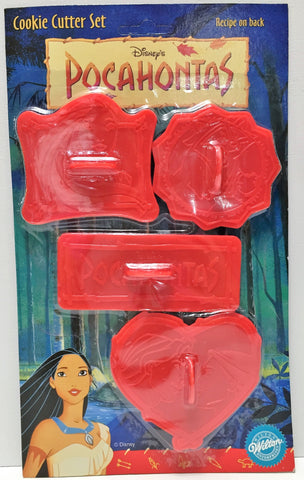 (TAS034048) - Wilton Collectible Disney Pocahontas Cookie Cutter Set - 4 Pack, , Kitchen, Wilton, The Angry Spider Vintage Toys & Collectibles Store  - 1