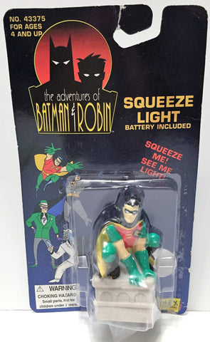 (TAS034049) - 1995 Janex Corp The Adventures of Batman & Robin Light - Robin, , Lights, Batman, The Angry Spider Vintage Toys & Collectibles Store  - 1