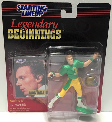 (TAS034074) - 1998 Kenner Starting Lineup Legendary Beginnings - Joe Montana, , Action Figure, Starting Lineup, The Angry Spider Vintage Toys & Collectibles Store  - 1