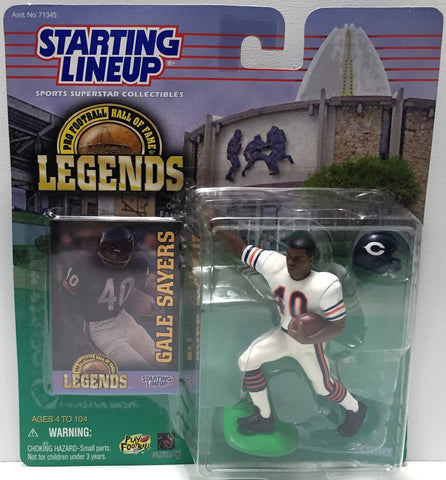 (TAS034077) - 1998 Hasbro Starting Lineup Legends - Gale Sayers, , Action Figure, Starting Lineup, The Angry Spider Vintage Toys & Collectibles Store  - 1