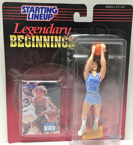 (TAS034079) - 1998 Kenner Starting Lineup Legendary Beginnings - Larry Bird, , Action Figure, Starting Lineup, The Angry Spider Vintage Toys & Collectibles Store  - 1